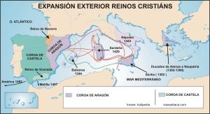 expansion exterior reinos cristiáns