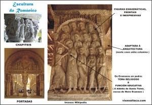 escultura do romanico