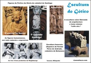 escultura gotico