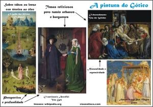 pintura gotico