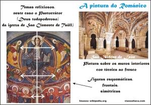 pintura románico