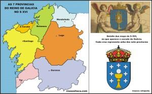 7 provincias de galicia s xvi