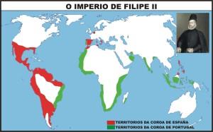IMPERIO DE FILIPE II SXVI