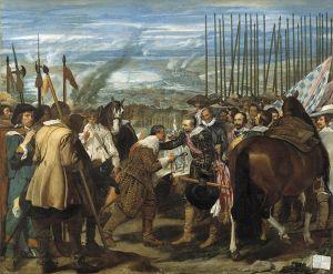 A rendición de Breda ou As lanzas ( Diego Velázquez, 1634 ) Fonte : wikipedia