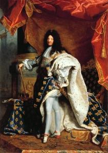 Luis XIV, o Rei Sol / Fonte: wikipedia