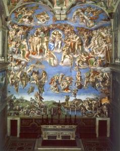 O Xuizo Final  , na Capela Sixtina ( Miguel Anxo )